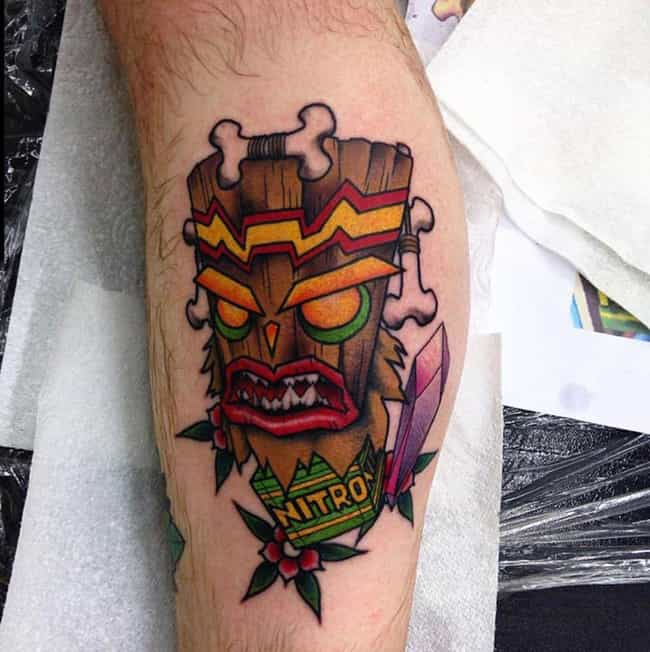 24 Incredible Video Game Tattoos That Are Simply Beautiful