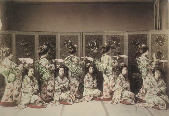 Geisha Evolved From Skil... is listed (or ranked) 4 on the list 10 Common Misconceptions People Have About Geisha