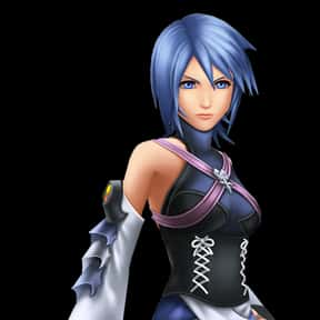 Aqua is listed (or ranked) 5 on the list The Best To Worst Kingdom Hearts Characters