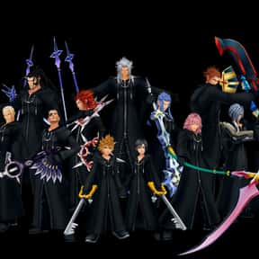 Organization XIII is listed (or ranked) 10 on the list The Best To Worst Kingdom Hearts Characters