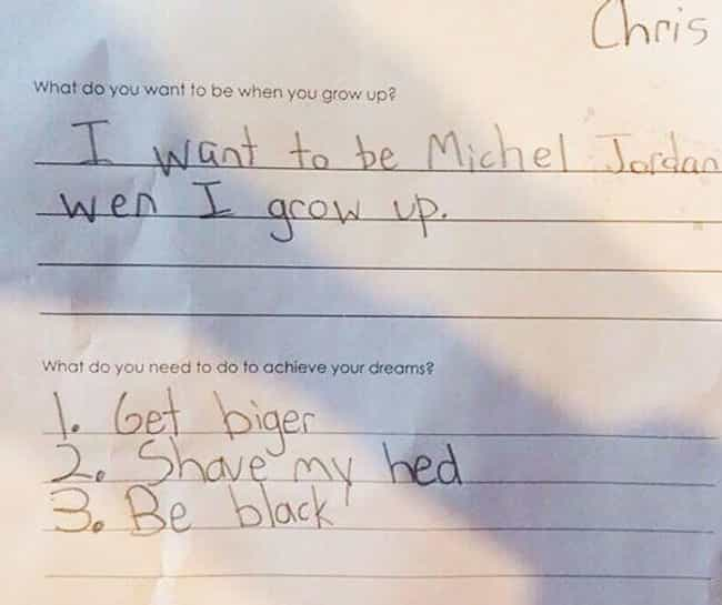 Be Like Mike is listed (or ranked) 4 on the list Kids With Totally Attainable Life Goals