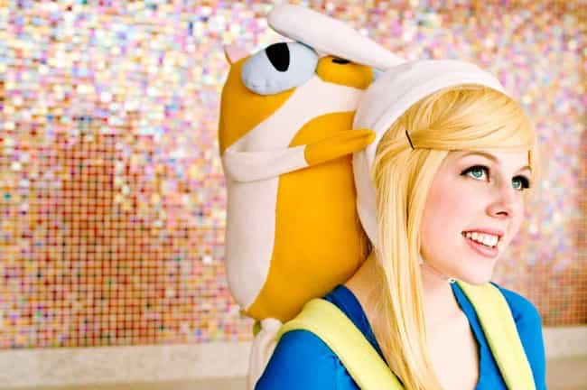 Fionna And Cake is listed (or ranked) 4 on the list 20 Flawless Adventure Time Cosplays That Are SO Math