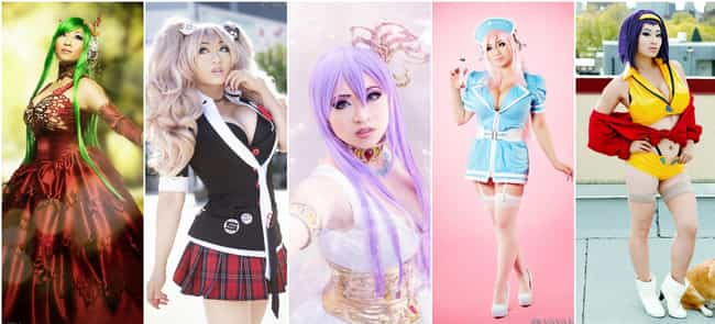 Yaya Han is listed (or ranked) 3 on the list The Best Anime Cosplayers In America