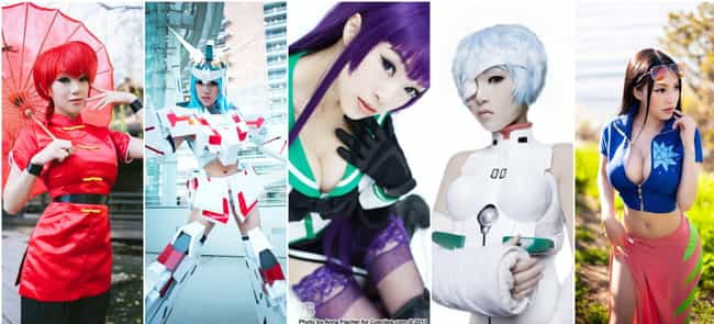 Vampy Bit Me is listed (or ranked) 3 on the list The Best Anime Cosplayers In America
