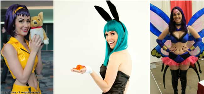 Meg Turney is listed (or ranked) 7 on the list The Best Anime Cosplayers In America