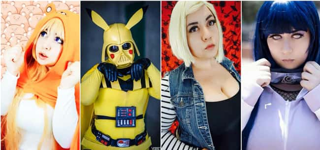 Nana Bear is listed (or ranked) 9 on the list The Best Anime Cosplayers In America