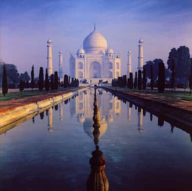 The Construction Of The Taj Ma is listed (or ranked) 2 on the list 14 Strange Facts People Don't Know About The Construction of The Taj Mahal