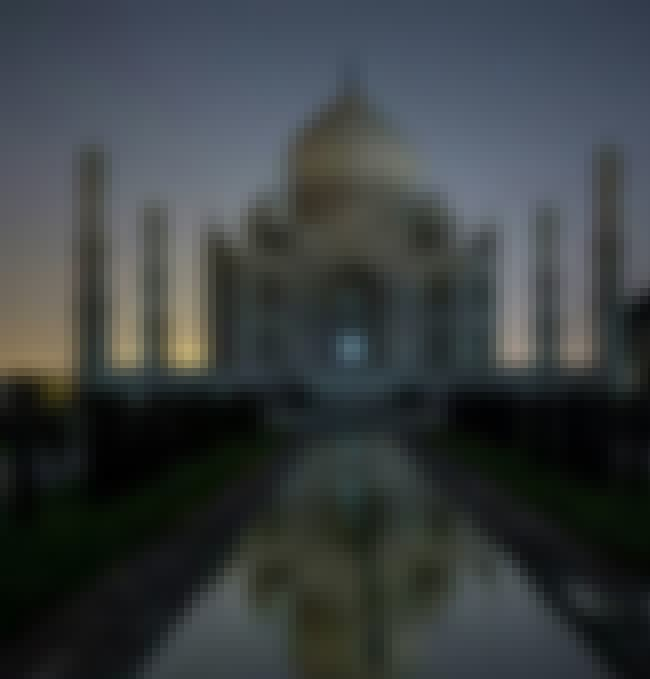 The Taj Mahal Changes Color Du... is listed (or ranked) 8 on the list 14 Strange Facts People Don't Know About The Construction of The Taj Mahal
