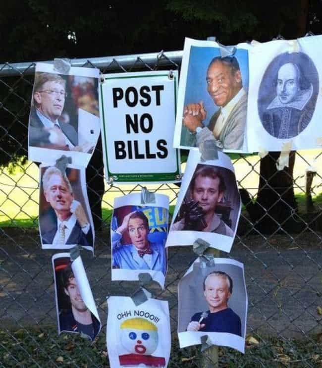 Bill Of Rights is listed (or ranked) 3 on the list 25 Photos All Wise Guys Can Appreciate