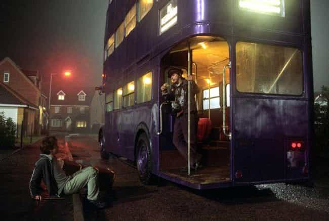 The Knight Bus is listed (or ranked) 4 on the list Modes Of Transportation In Harry Potter, Ranked By How Uncomfortable They Are