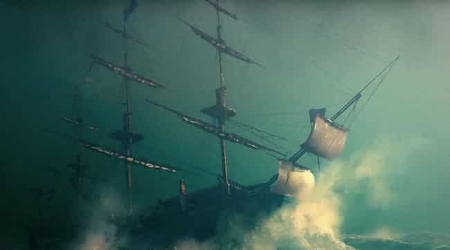 The Frozen Ghosts Aboard... is listed (or ranked) 4 on the list 10 'Ghost Ships' That Mysteriously Disappeared At Sea & Were Never Found
