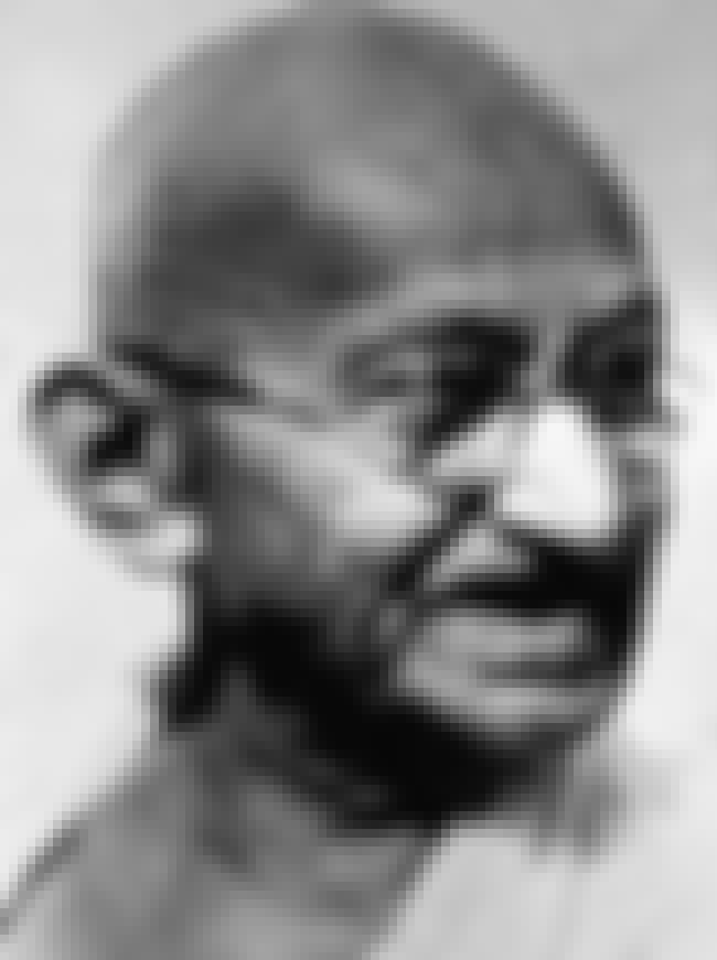 Mahatma Gandhi Investigated A ... is listed (or ranked) 4 on the list People With Really Believable Evidence For Their Claim They're Reincarnated