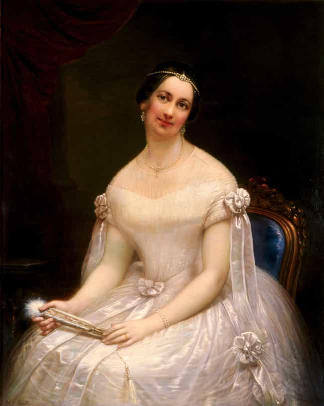 She Was Labeled 'The Rose ... is listed (or ranked) 2 on the list 16 Facts About Julia Tyler, The Most Controversial First Lady of the 1800s