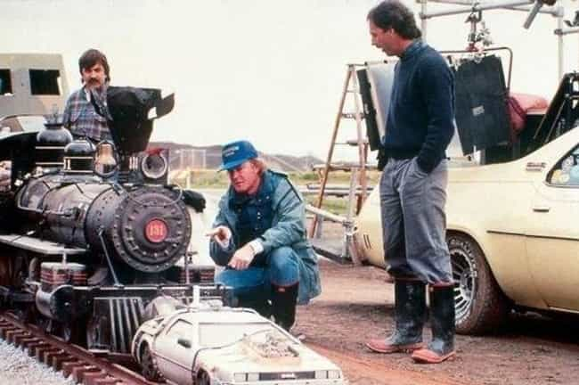 The Train Scene Is Framed For ... is listed (or ranked) 4 on the list 25 Epic Behind-The-Scenes Photos Of Famous Miniature Movie Sets