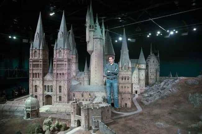 The Harry Potter Crew Looks Ha... is listed (or ranked) 2 on the list 25 Epic Behind-The-Scenes Photos Of Famous Miniature Movie Sets