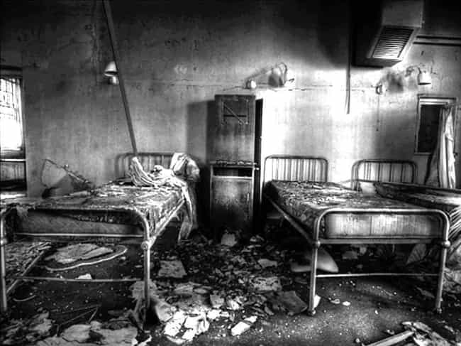 Pennhurst State School And Hos... is listed (or ranked) 3 on the list 12 Real And Terrifying Haunted Hospitals