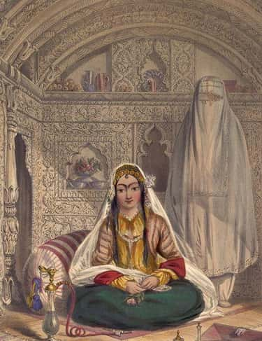 Women Of The Harem Were Seclud is listed (or ranked) 2 on the list A Glimpse Of Life In An Ottoman Sultan's Harem