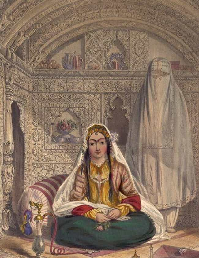 Women Of The Harem Were Seclud... is listed (or ranked) 2 on the list A Glimpse Of Life In An Ottoman Sultan's Harem