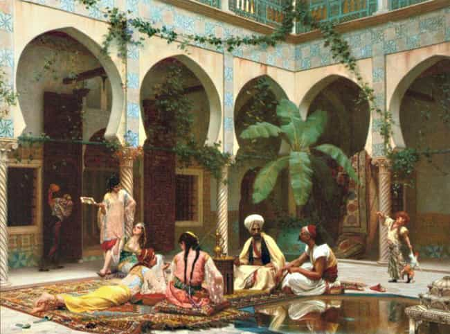 The Harem Was Gorgeous is listed (or ranked) 3 on the list A Glimpse Of Life In An Ottoman Sultan's Harem
