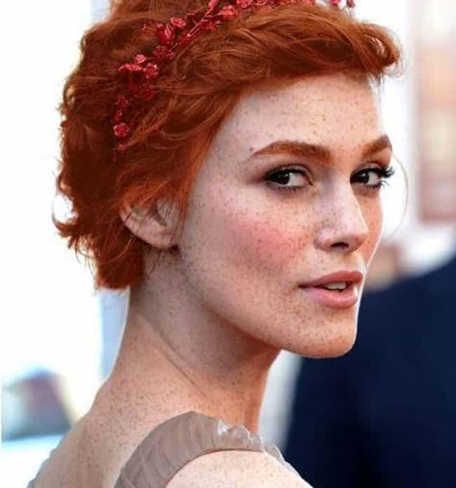 Keira Knightley is listed (or ranked) 3 on the list 20+ Of Your Favorite Celebrities Reimagined As Redheads