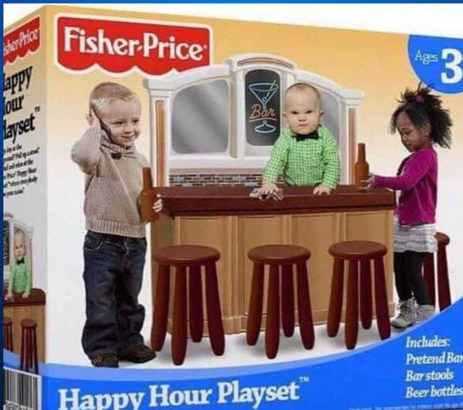 Fisher-Price Put Out A H... is listed (or ranked) 3 on the list 14 Ridiculous Toy Myths That Are Completely False