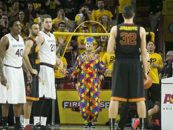 Random Funniest College Basketball Free Throw Distraction Signs