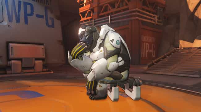The Sandbagger is listed (or ranked) 1 on the list 17 Annoying Overwatch Players You Have Probably Cussed At