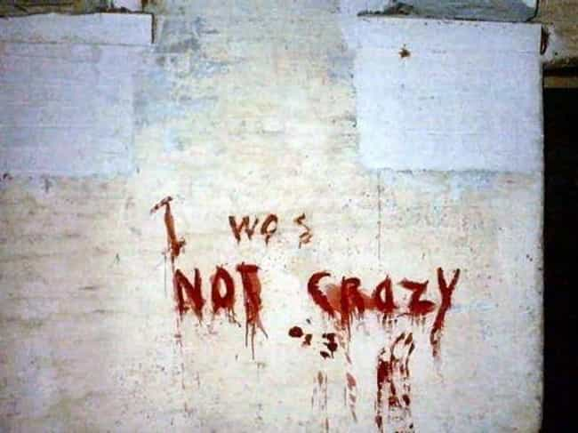 Is That So? is listed (or ranked) 3 on the list Creepy Graffiti In Abandoned Buildings That Will Haunt Your Nightmares