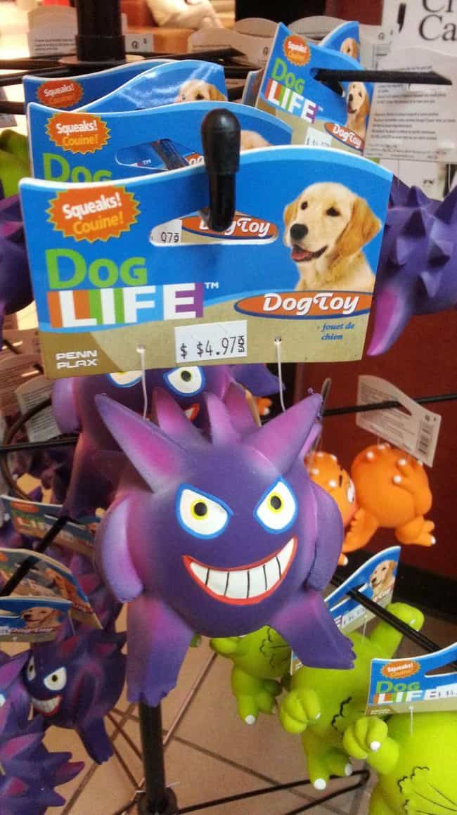 Gengar Looks Very Happy Consid... is listed (or ranked) 3 on the list 17 Horrifying Pokémon Knockoffs You Won't Believe Actually Exist