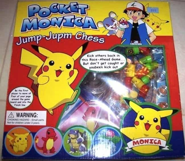Who Needs Punctuation And Gram... is listed (or ranked) 2 on the list 17 Horrifying Pokémon Knockoffs You Won't Believe Actually Exist