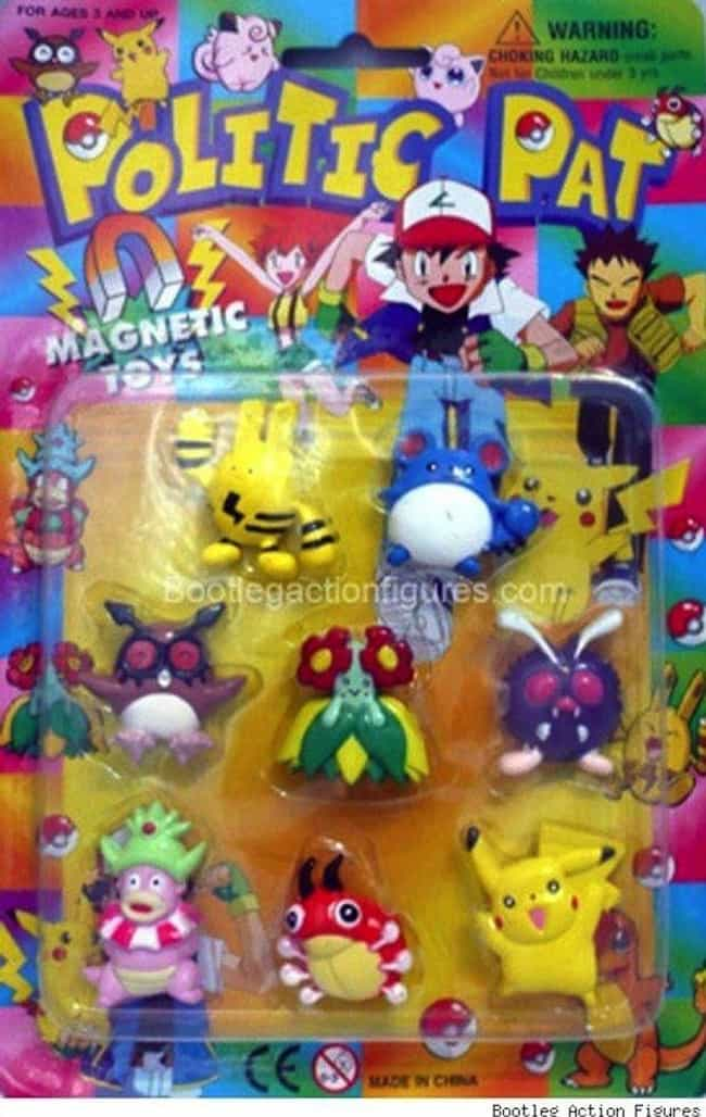 This Makes More Sense Than Muc... is listed (or ranked) 2 on the list 17 Horrifying Pokémon Knockoffs You Won't Believe Actually Exist