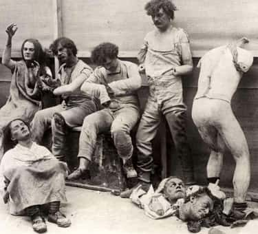 1930s – Melted Wax Figures After A Fire