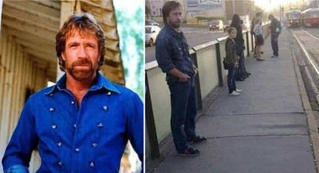 Russian Chuck Norris Doe... is listed (or ranked) 4 on the list Celebrities And Their Russian Doppelgangers