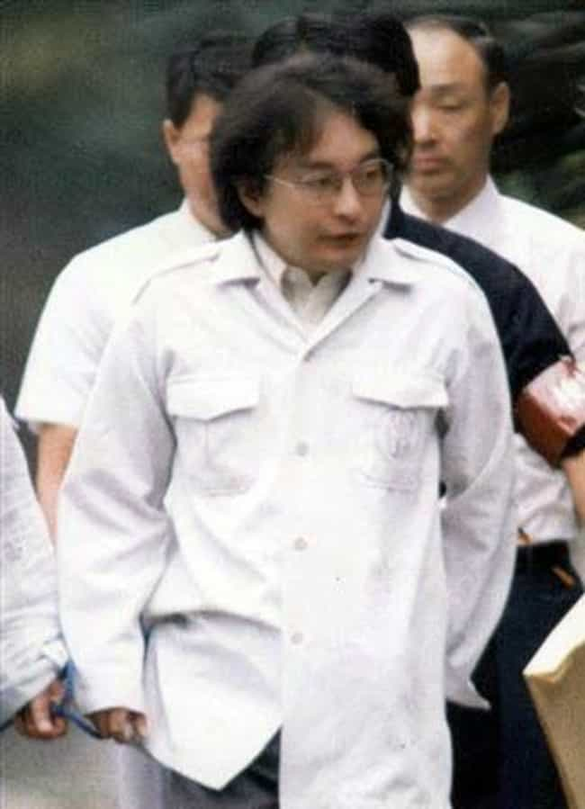 """He Dismembered Some Of His Vic... is listed (or ranked) 4 on the list The Disturbing Case Of Tsutomu Miyazaki, """"The Little Girl Murderer"""""""