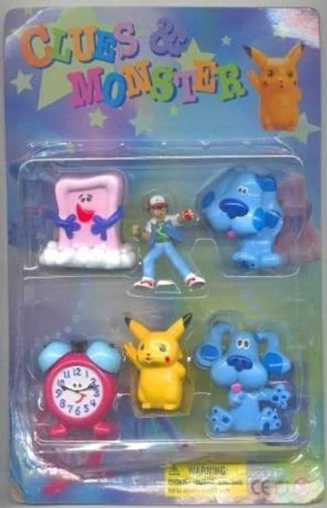 Someone Needs To Get A Clue is listed (or ranked) 4 on the list 17 Horrifying Pokémon Knockoffs You Won't Believe Actually Exist
