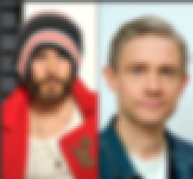 Jared Leto & Martin Freeman: A... is listed (or ranked) 1 on the list Actors You Never Realized Are The Same Age