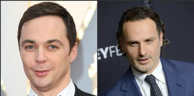 Jim Parsons & Andrew Lincoln: ... is listed (or ranked) 4 on the list Actors You Never Realized Are The Same Age