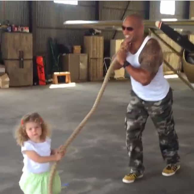 """He Helped A Little Girl Pull A... is listed (or ranked) 5 on the list 16 Times Dwayne """"The Rock"""" Johnson Was The Best"""