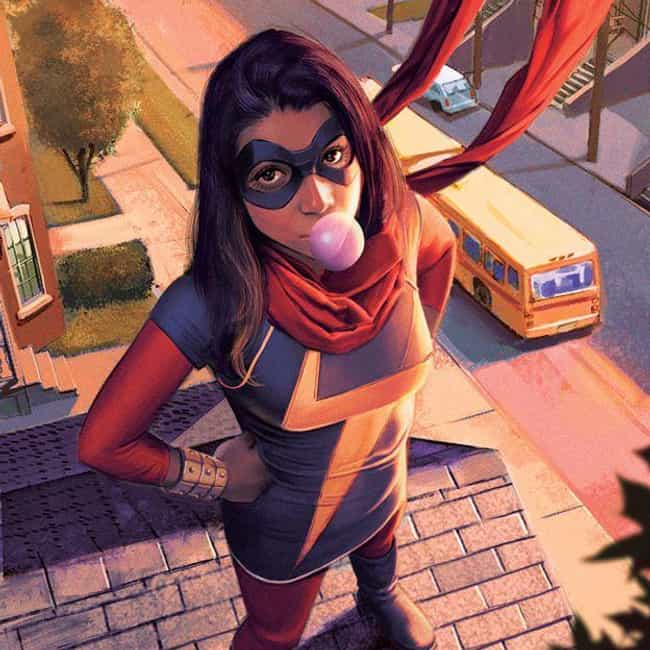 Ms. Marvel is listed (or ranked) 4 on the list 18 Obscure Characters From Inhumans