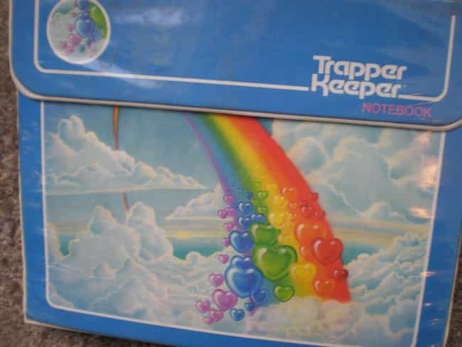 The Trapper Keeper Wasn'... is listed (or ranked) 1 on the list What The Heck Happened To Trapper Keepers?