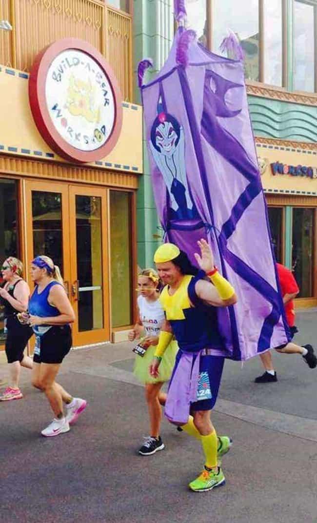 Winning The Disney Half Marathon