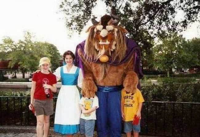 Beast Mode is listed (or ranked) 3 on the list 25 Of The Funniest Photos Ever Taken At Disneyland