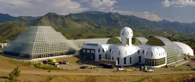 Engineers Secretly Scrub... is listed (or ranked) 4 on the list 10 Insane Facts About Biosphere 2, The Largest Contained Experiment Ever