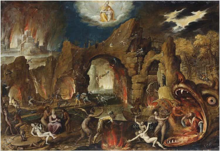 The Harrowing Of Hell —Jacob van Swanenburg,   1586-1638