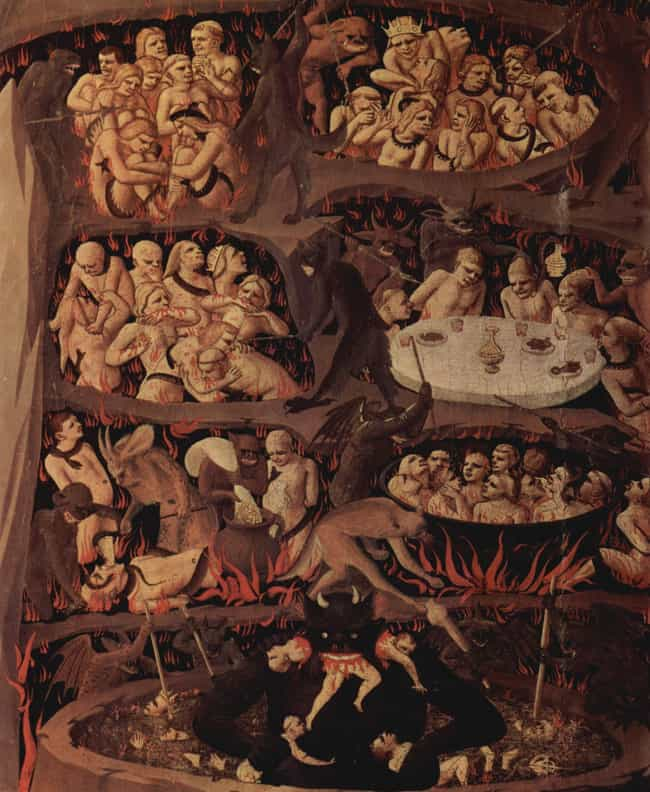 Das Jüngste Gericht... is listed (or ranked) 3 on the list The Most Nightmarish Depictions Of Hell Ever Conceived