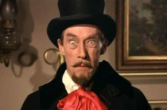 John Carradine As Count Dracul... is listed (or ranked) 3 on the list The Lamest Movie and TV Draculas Ever