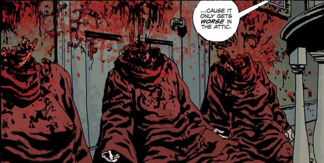 These Head Messes In Fatale is listed (or ranked) 2 on the list The 15 Most Insanely Gory Moments In Image Comics History