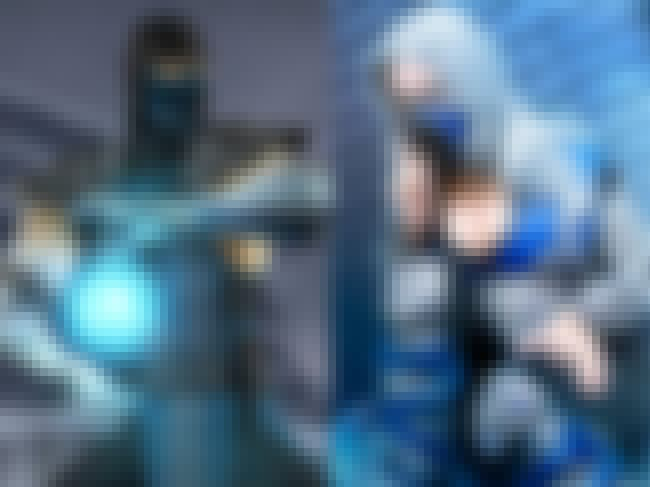 Sub Zero From Mortal Kombat is listed (or ranked) 2 on the list Video Game Cosplays You Didn't Expect To Be Sexy