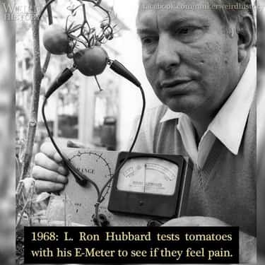 1968: L Ron Hubbard And His E-Meter