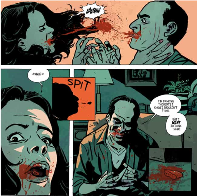 Outcast Shows The True Horror ... is listed (or ranked) 4 on the list The 15 Most Insanely Gory Moments In Image Comics History